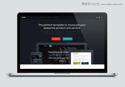 15款超精緻的Bootstrap網站模板下載