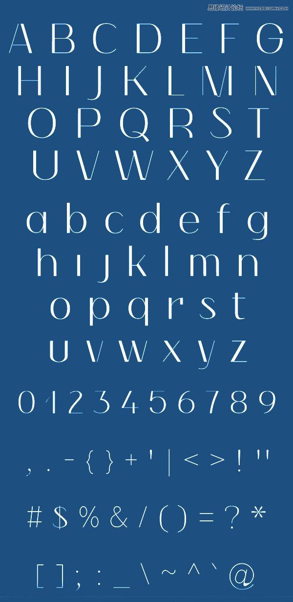 16组优质人气最高的英文字体免费下载,PS教程,思缘教程网