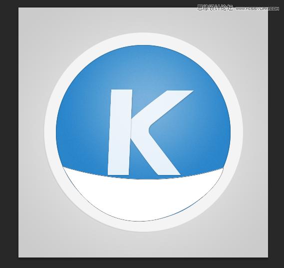 Photoshop設計藍色風格的酷狗軟件圖標教程
