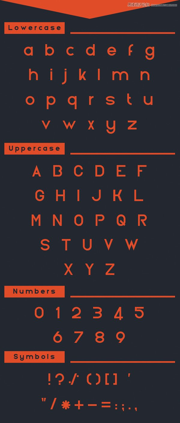 12組國外優質的設計英文字體免費下載