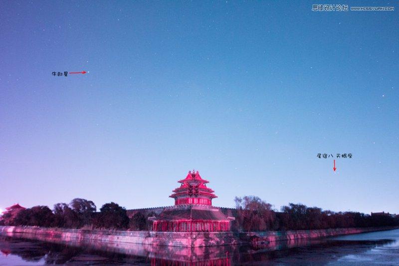淺談故宮角樓銀河的拍攝和後期過程