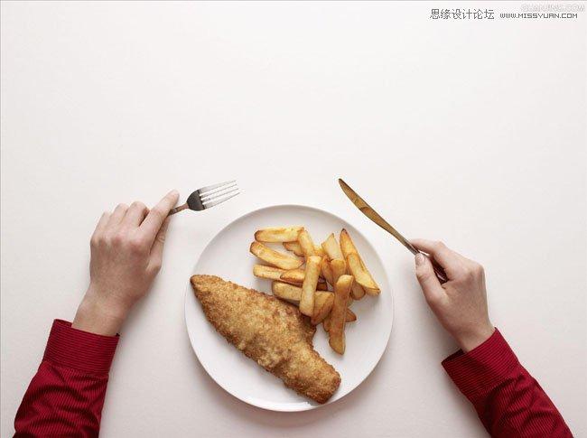 photoshop创意合成美食盛宴的海报效果