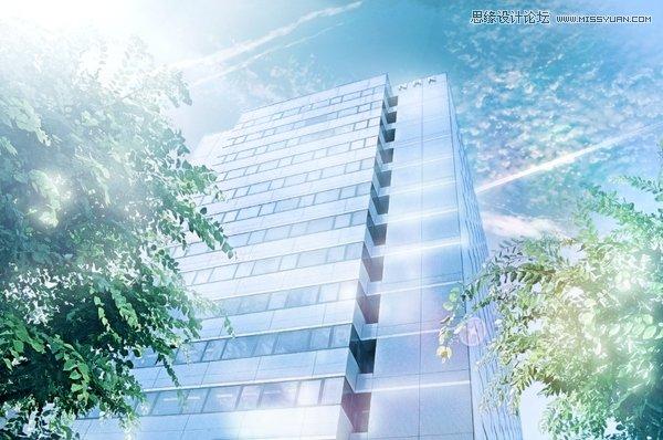 Photoshop手绘同人照片唯美的调出效果图-专茨木街景草萤漫画图片