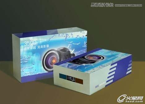 首先我们需要根据结构设计绘制出包装盒的展开图