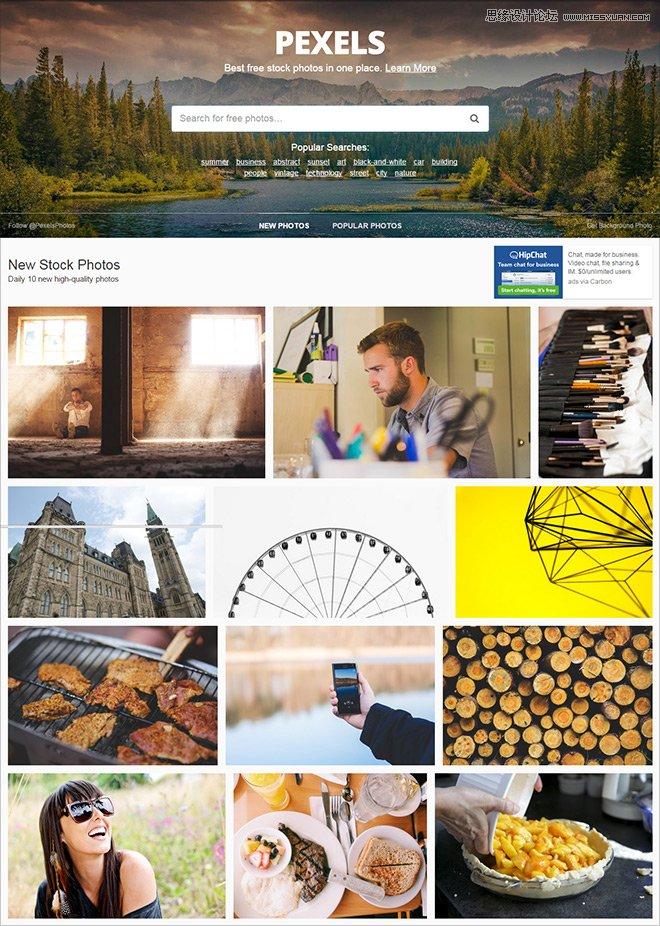12個無版權限制的高清無碼圖片素材站