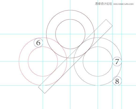 illustrator绘制蓝色时尚风格的百度云logo