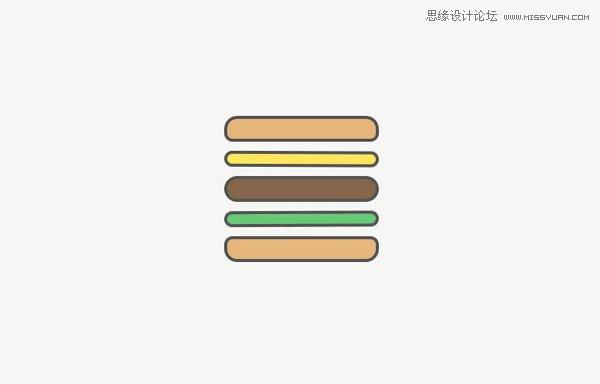 20款展現漢堡圖標的新玩法設計方案