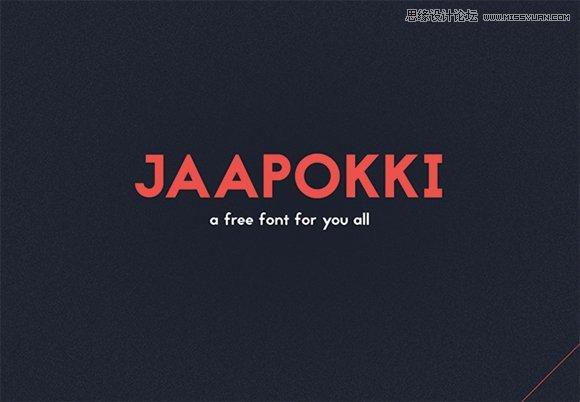 精選適合做標題的英文字體免費下載