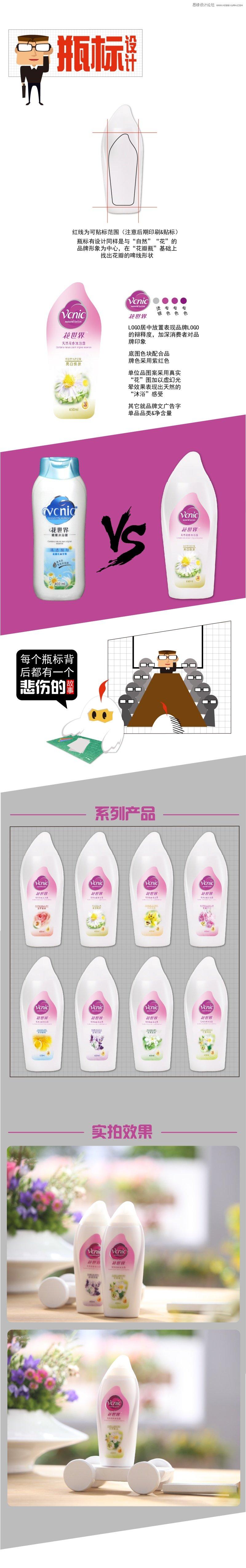 詳細解析花世界沐浴產品新包裝詳解