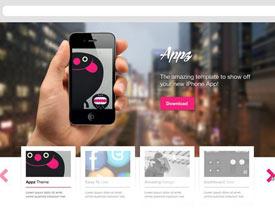 25款值得收藏的优秀网站模板免费下载