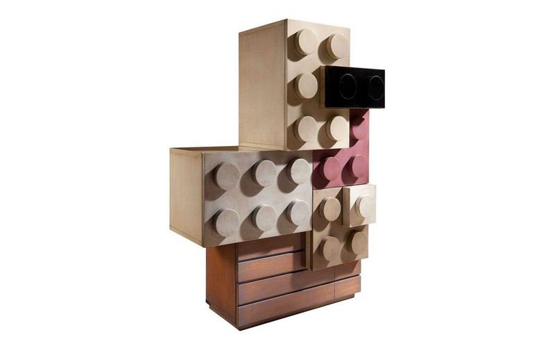 10款創意風格的樂高積木兒童房家具設計