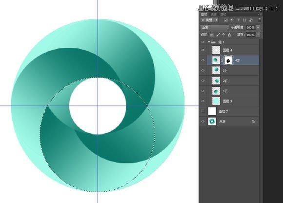 临沂电脑设计培训班|photoshop制作立体风格的圆形旋涡图形图标