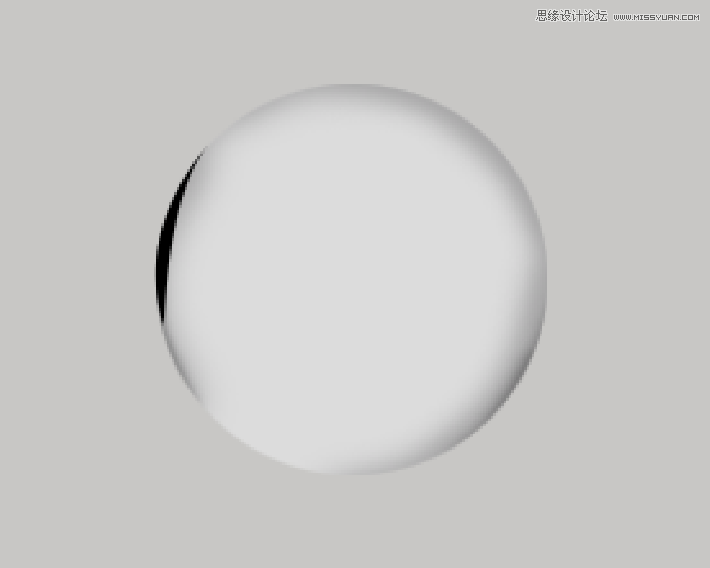 Photoshop繪製立體特效的玻璃球效果圖