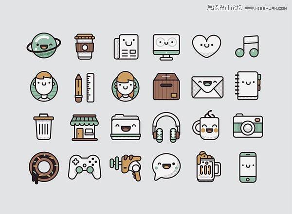 30套国外精品图标素材免费打包下载