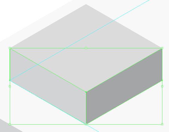 illustrator绘制矢量风格的立体小房子图标