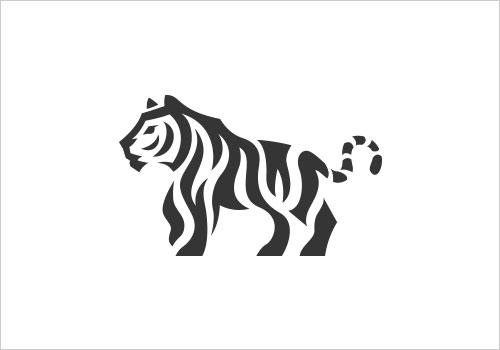 23款国外有趣的负空间动物logo设计欣赏