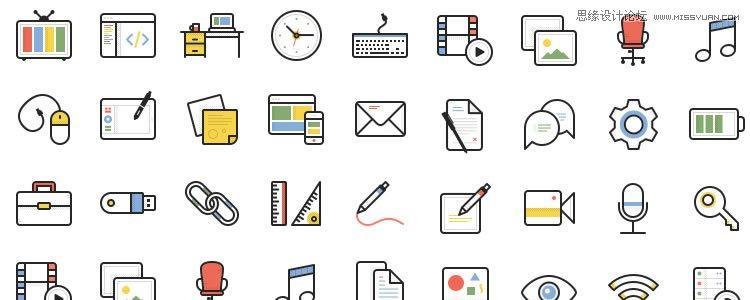 2015年最不能错过的图标素材免费打包下载