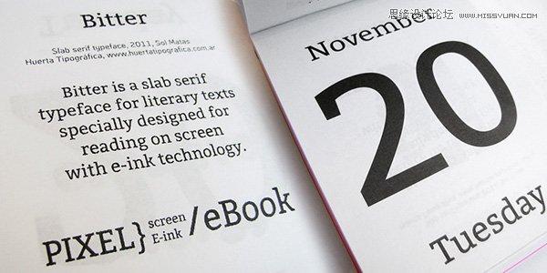 2015年不容錯過的英文字體打包下載