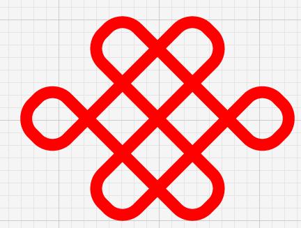 Illustrator设计标准的中国联通标志教程