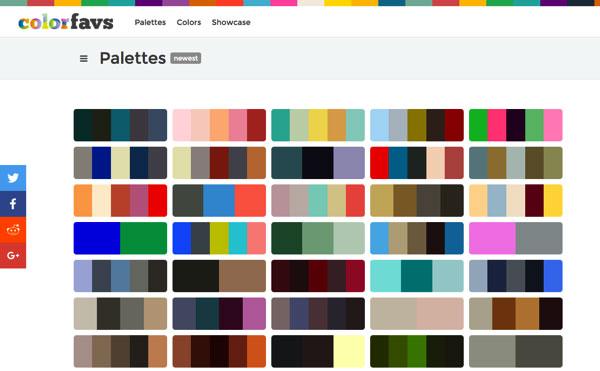在線色彩搭配工具和快速生成佔位圖片器
