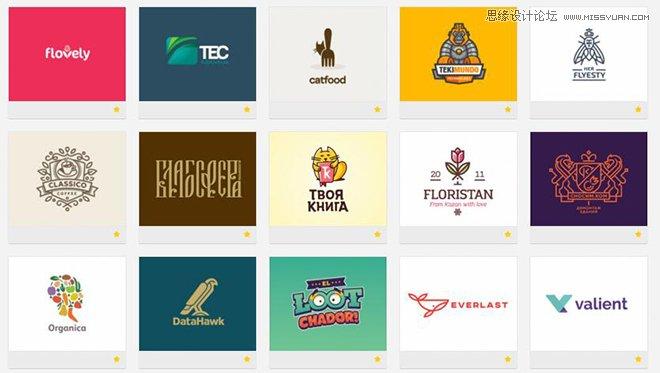 9个国外专业的logo设计素材站分享
