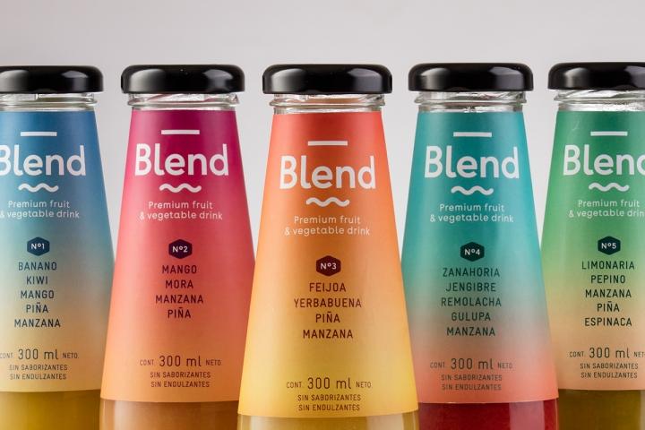 8张国外blend饮料时尚包装设计欣赏