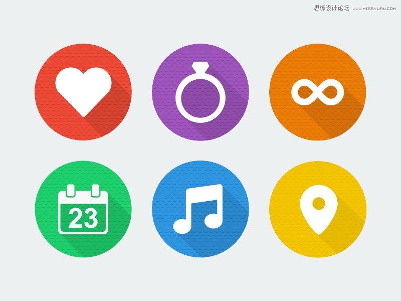 12組高質量的婚禮圖標免費打包下載