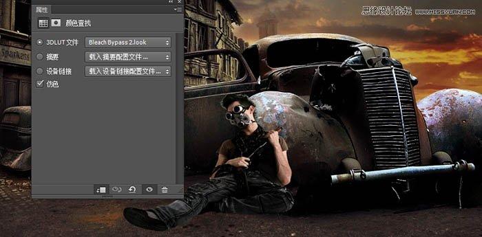 photoshop合成颓废风格的战争片场景教程(3)
