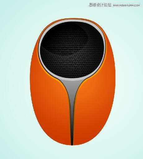 Photoshop繪製時尚立體效果的音箱造型圖標