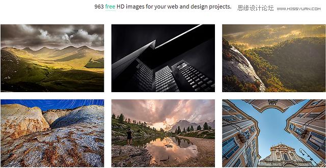 12款人氣超高的頂尖圖片資源網站分享
