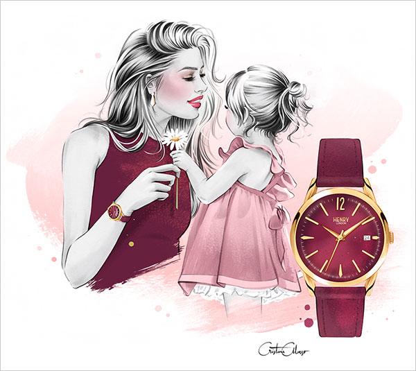 29款国外创意风格的母亲节海报设计欣赏
