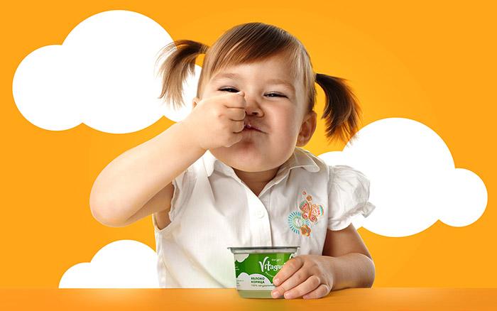 炫彩的Vitagurt酸奶包裝設計欣賞