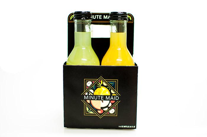 Minute Maid果汁包裝設計欣賞