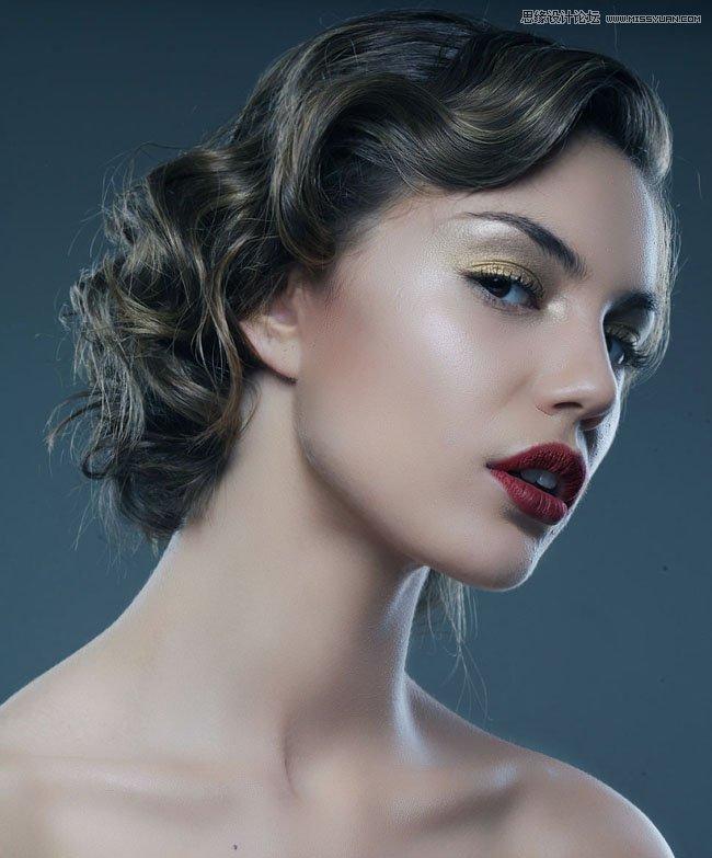 多种方法综合给人像照片后期质感磨皮