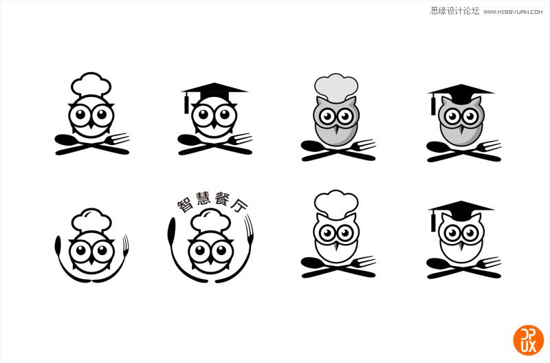 智慧餐厅项目是点评为商家打造的一系列、全套的线上便捷服务,所对应的点评项目为线上订座、排号、点菜、买单。围绕这个主题,我们经过了脑暴关联因素,草图评审、方案探索、优化最佳方案四个步骤,一起来看看这个LOGO的诞生过程。 第一阶段 脑暴  1. 项目介绍 智慧餐厅项目是点评为商家打造的一系列、全套的线上便捷服务,所对应的点评项目为线上订座、排号、点菜、买单。 2.