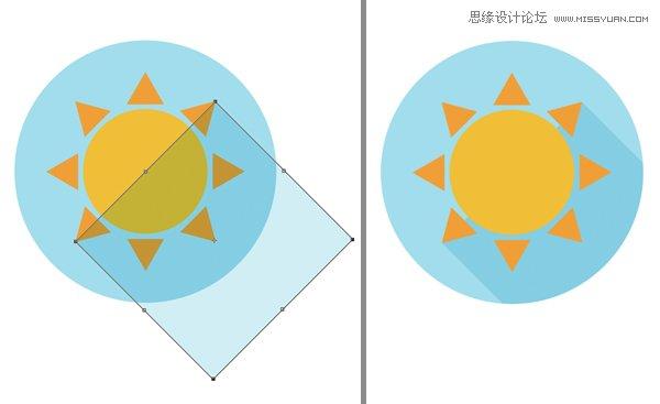 ps手绘太阳素材