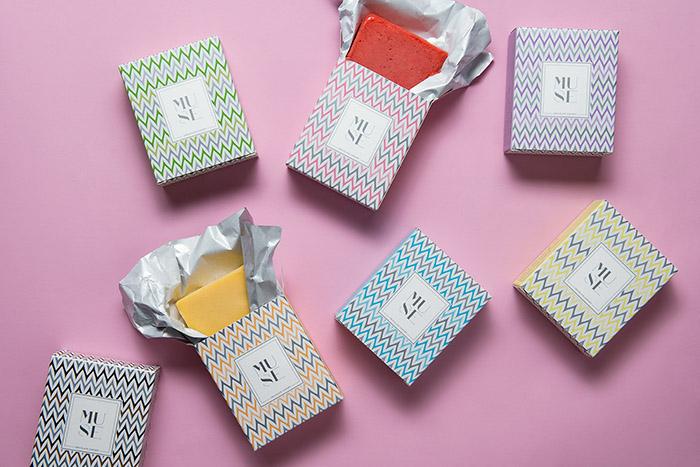 時尚簡約Muse冰淇淋包裝設計欣賞
