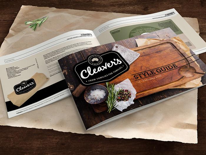 Cleaver有機肉製品產品包裝設計欣賞