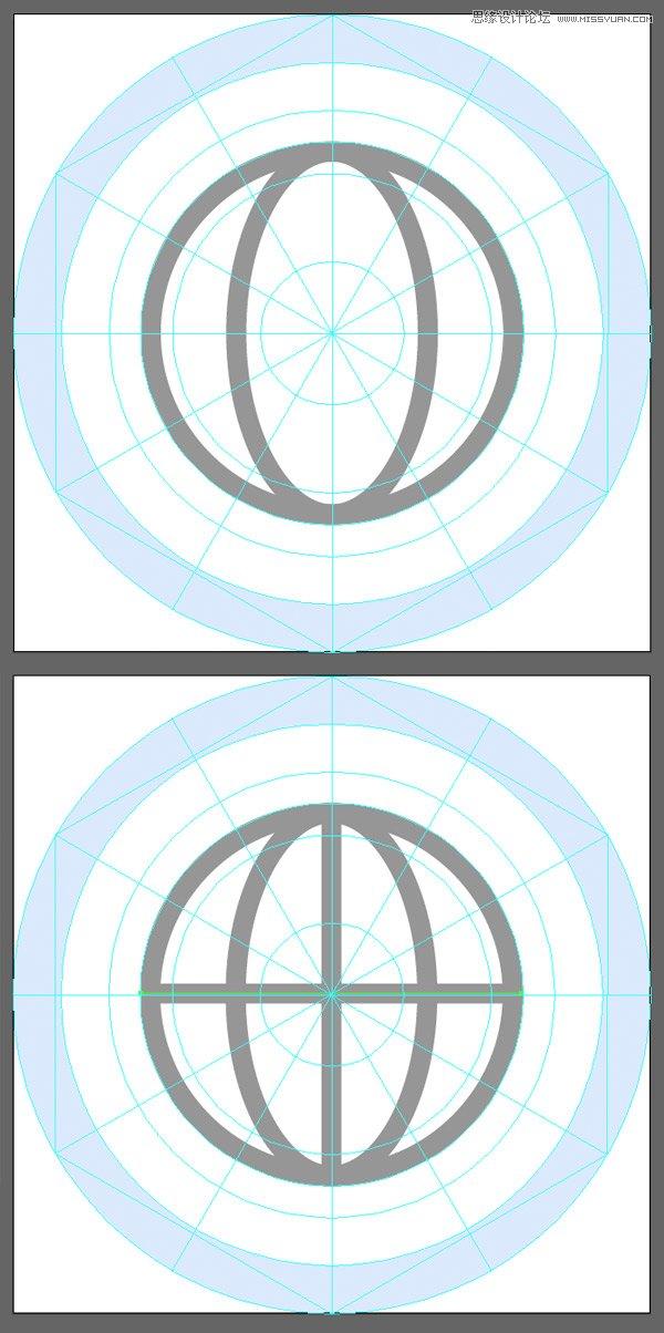 Illustrator繪製扁平化風格的軟件圖標教程