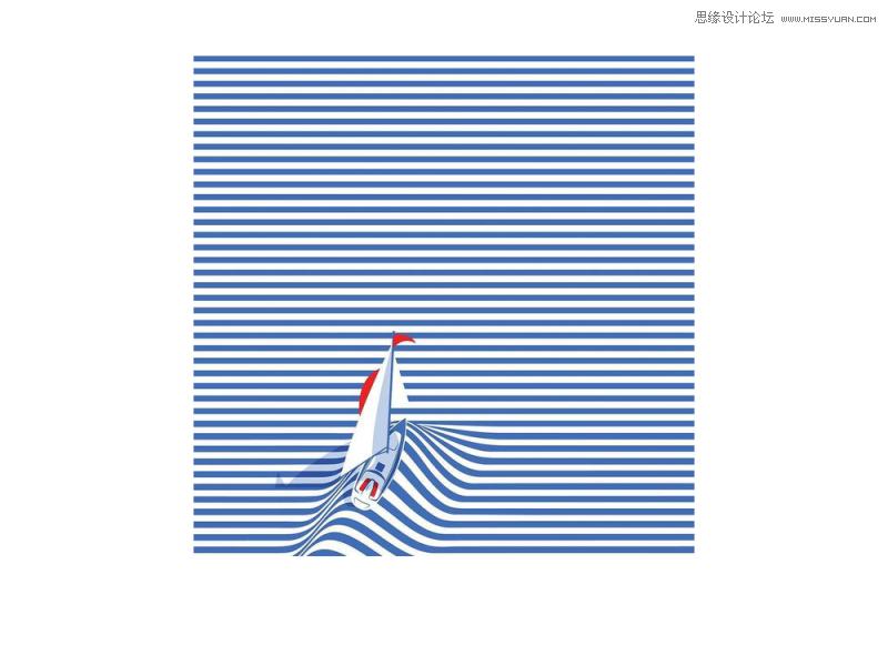 线条是网页设计中很常见的一种构成元素,线的性质让它能身兼数职,又不霸占视觉风头。上一次我们已经在平面设计中如何用点提高视觉张力讨论过点,这一次让我们一起来到线的世界。本篇主要介绍平面设计中线的风格及视觉感受,线的作用以及玩法。 一、线是一个点的行迹 任何形都由线包围而成,线就是一个二维生物里的产物,它有长度、宽度,它甚至还能帮我们模拟三维的深度。你可以把线看成一个点的运行轨迹,这个思路就可以帮你找到线的本质:线是一条运行轨迹,它是从点的基础上发展而来的。 一条线也并不拘泥于就是平直的线条形式,只要能连缀成