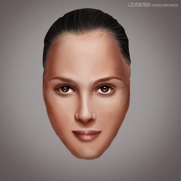 photoshop给光滑的人物添加雀斑和疤痕效果