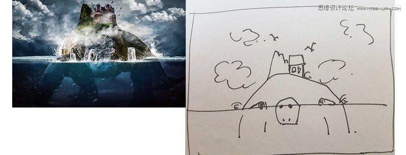 3個方法幫助您拆解成品的海報合成圖【2】