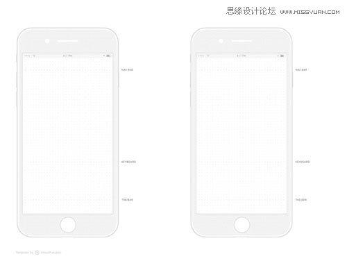 iphone 7 线框图(pdf+psd)