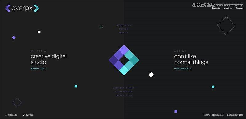 网页设计中如何让字体和文字搭配更好看