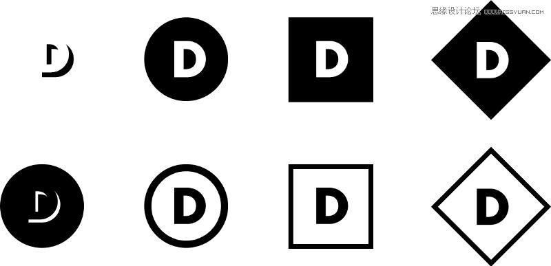 設計師五分鐘快速設計出一個LOGO作品