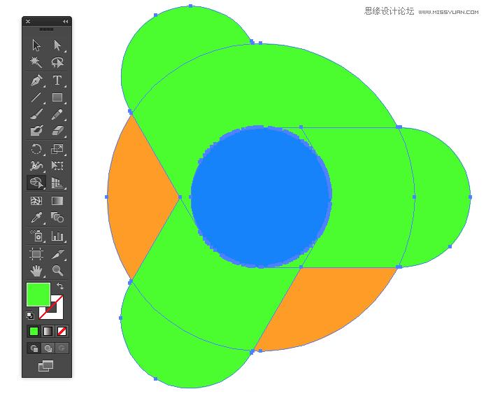 教程 ai绘制google浏览器chrome图标图片