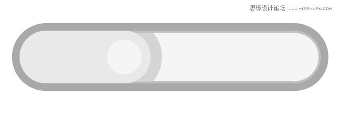 Photoshop繪製立體風格的UI控件開關
