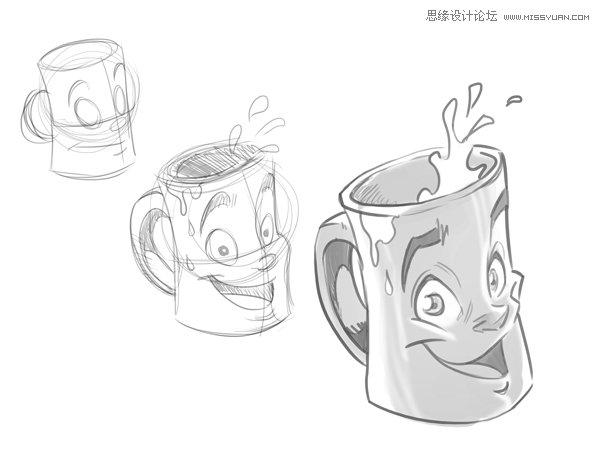 动画入门教程:如何画好卡通人物的身体 - ps绘画交流
