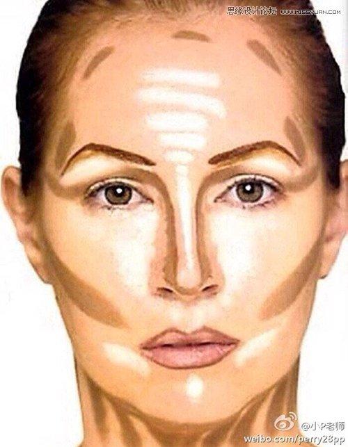 Photoshop如何加强脸部结构打造立体感人像,PS教程,思缘教程网