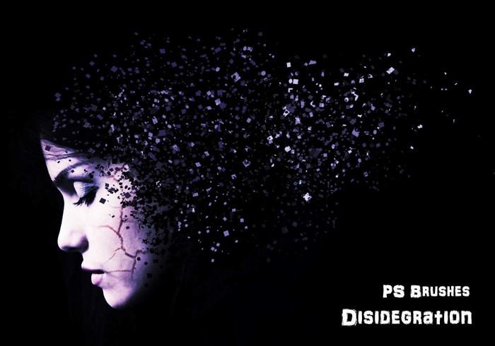 粒子打散分散效果PS笔刷